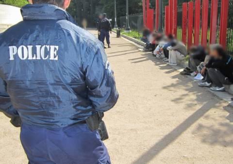 Βίντεο και φωτογραφίες από την αστυνομική επιχείρηση στο κέντρο