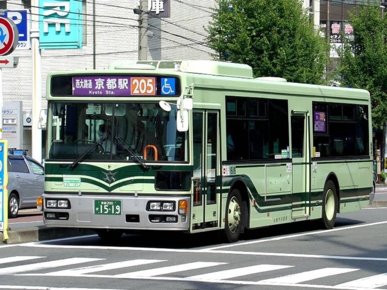 Ιαπωνικό σεξ σε Buss