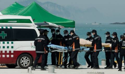 Νότια Κορέα: Εντοπίστηκαν στοιβαγμένα πτώματα σε καμπίνες