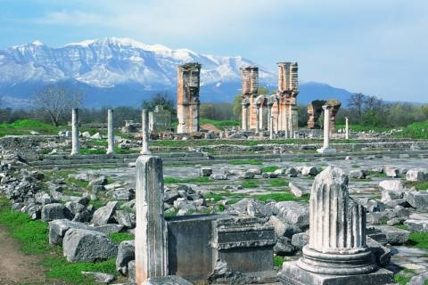 Καβάλα: «Παίζει» ο αρχαιολογικός χώρος Φιλίππων για τα Μνημεία UNESCO