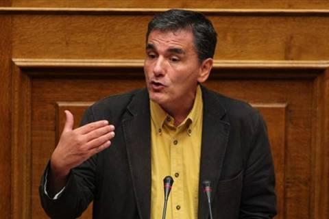 Τσακαλώτος: Οι αντιφάσεις της πολιτικής του Μνημονίου δεν κρύβονται