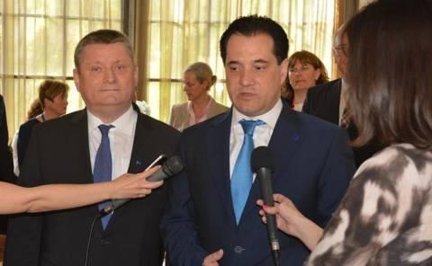 Άδωνις Γεωργιάδης: Eυχαριστίες στην Γερμανία για την μεταρρύθμιση