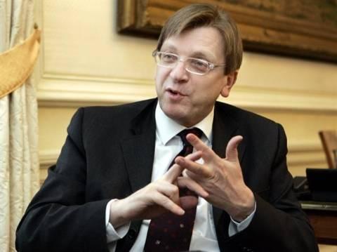 Ο Βερχόφστατ αισιοδοξεί ότι μπορεί να γίνει πρόεδρος της ΕΕ