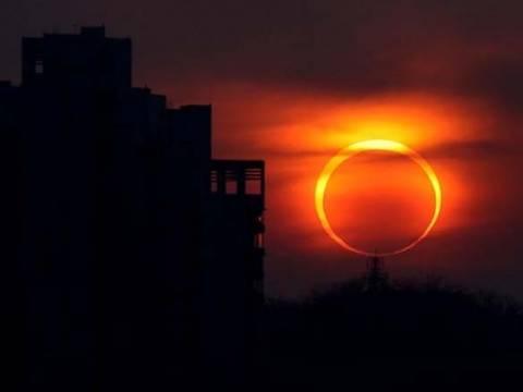 Εντυπωσιασή έκλειψη την Τρίτη: Δαχτυλίδι φωτιάς ο Ήλιος