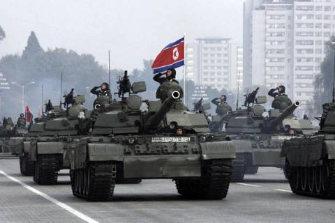 Στρατιωτικές ασκήσεις με αληθινά πυρά θα πραγματοποιήσει η Β. Κορέα