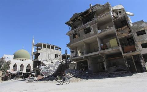 Συρία: Δώδεκα νεκροί από βλήμα όλμου
