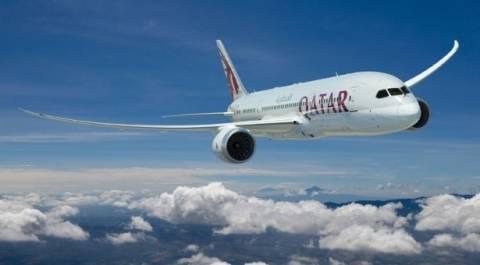 Η πρώτη πτήση της Qatar Airways στη Κύπρο