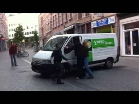 Βέλγιο: Μεθυσμένος οδηγός σκόρπισε τον τρόμο (video)