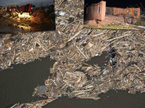ΗΠΑ: 35 νεκροί από το φονικό πέρασμα των ανεμοστρόβιλων