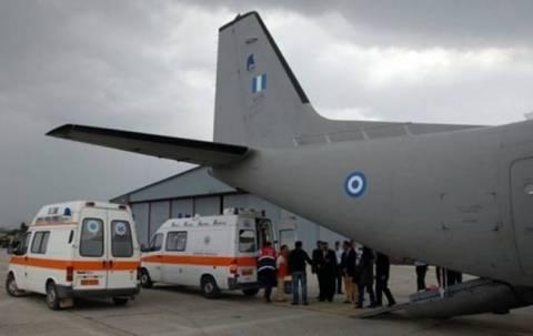 Γέφυρα ζωής με C-130 για 35χρονη έγκυο από τη Ρόδο
