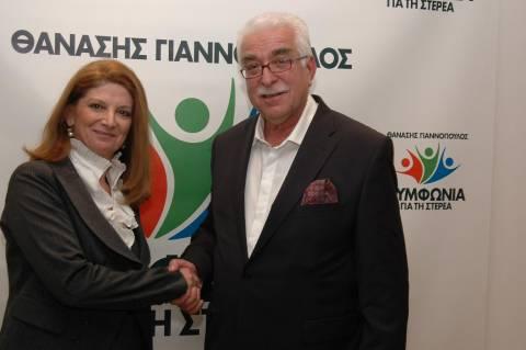 Θ.Γιαννόπουλος: Εγκαίνια του εκλογικού κέντρου στο Καρπενήσι