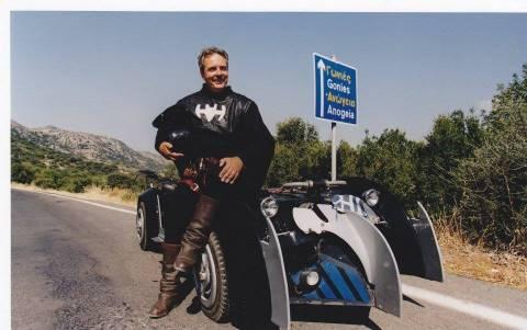 Υποψήφιος στην Κρήτη...ο Batman!