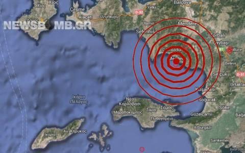 Σεισμός 3,7 Ρίχτερ βόρεια της Σάμου