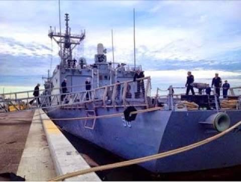 Αμερικανική φρεγάτα απέπλευσε από λιμάνι της Ρουμανίας