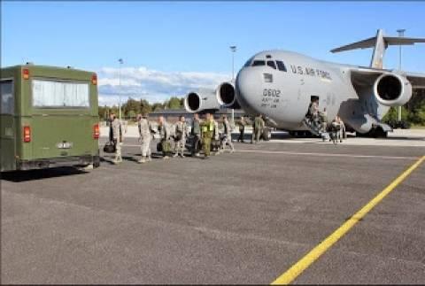 F-16 της Δανίας προσγειώθηκαν στην Εσθονία