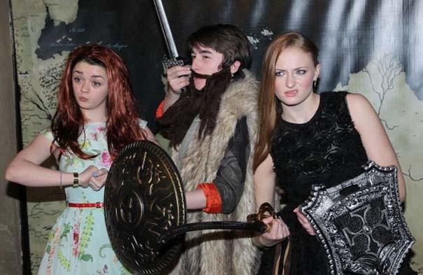 Όταν οι πρωταγωνιστές του Game of Thrones… ξεσαλώνουν! (pics)