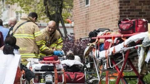 Νέα Υόρκη: Τραυματίες από εκτροχιασμό συρμού του μετρό