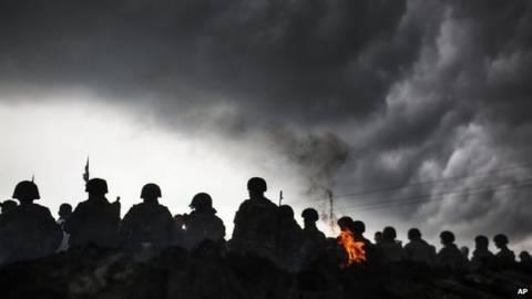 Ουκρανία: Σφοδρές μάχες στο Κραματόρσκ