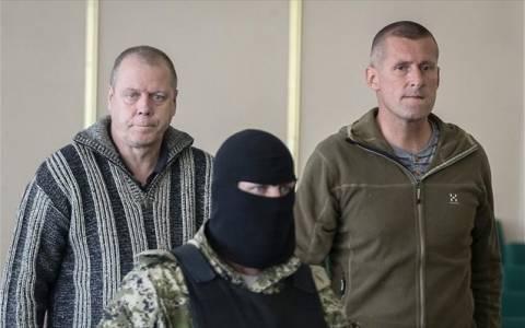 Ουκρανία: Απελευθερώθηκαν οι 12 στρατιωτικοί παρατηρητές του ΟΑΣΕ