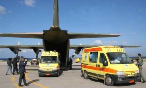 Νέα αερογέφυρα ζωής για μωρό 15 ωρών