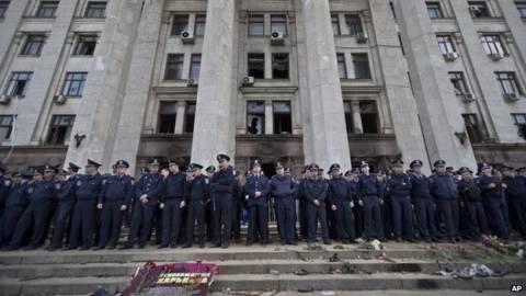 Ουκρανία: Μαρτυρίες για τα γεγονότα της Οδησσού