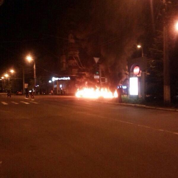 Ουκρανία: Ένταση ξανά στην Οδησσό, χάος στο Σλαβιάνσκ (video+photos)
