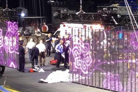 ΗΠΑ: Ακροβάτες τσίρκου έπεσαν στο κενό-9 τραυματίες (vid)