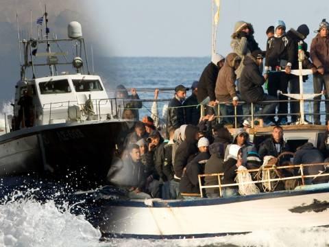 Επιχείρηση διάσωσης μεταναστών ανοιχτά της Σάμου - Δυο νεκροί