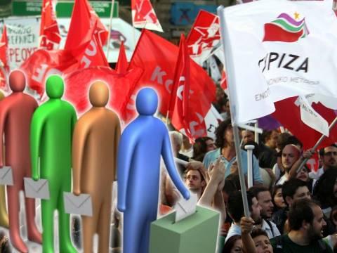 Δημοσκόπηση: Πρωτιά του ΣΥΡΙΖΑ στις Ευρωεκλογές