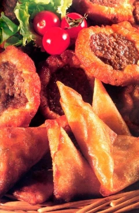 Σεμσέκ, συνταγή για αρμενική τηγανιτή πίτα με κιμά