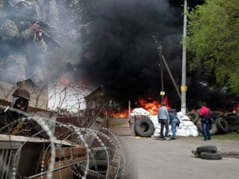 Μάχες σώμα με σώμα έξω απ' το Σλαβιάνσκ