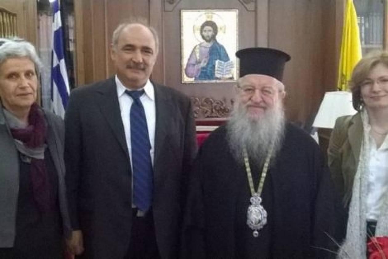 Θεσσαλονίκη: Με τον Άνθιμο συναντήθηκε ο Μπόλαρης