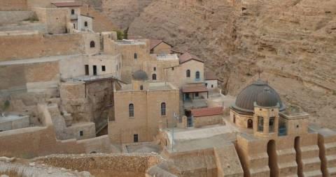 Η ελληνική γλώσσα διδάσκεται σε σχολείο της Βηθλεέμ