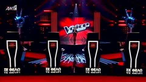 Σάρωσε με 1.593.000 τηλεθεατές το «The Voice»