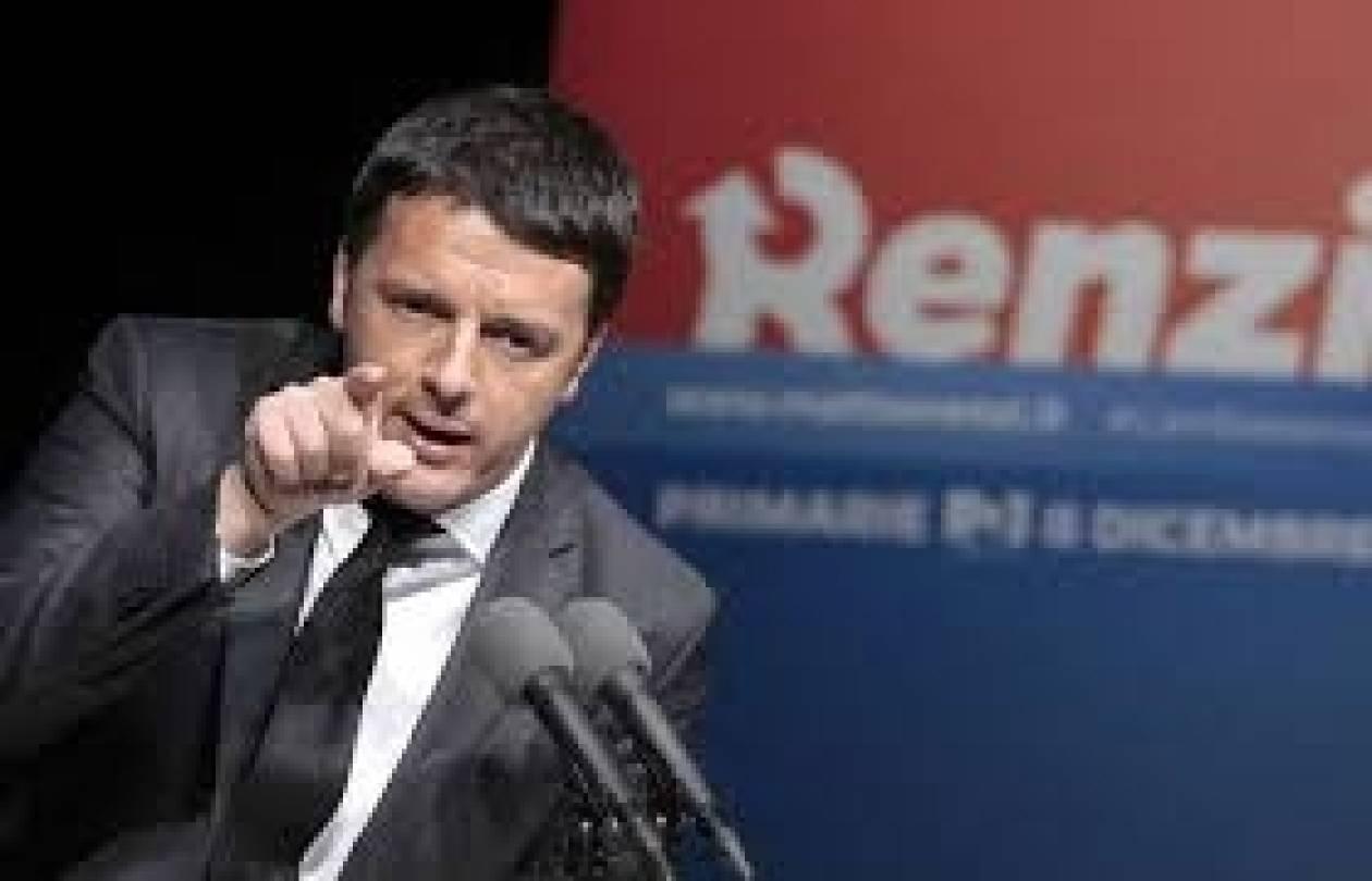 Ρέντσι : Μάχη «ανάμεσα στην ελπίδα και στον θυμό οι Ευρωεκλογές»