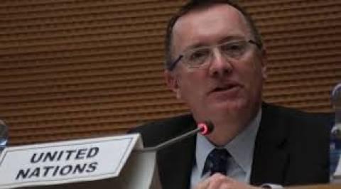 Κύπρος: «Γλωσσικό λάθος» η αναφορά του βοηθού γ.γ. του ΟΗΕ σε «δύο λαούς»