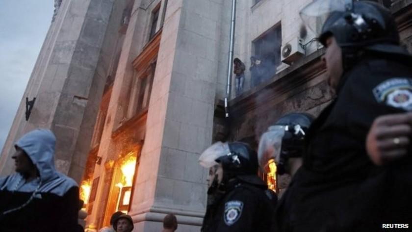 Προσοχή:Σκληρές εικόνες από το μακελειό στην Οδησσό