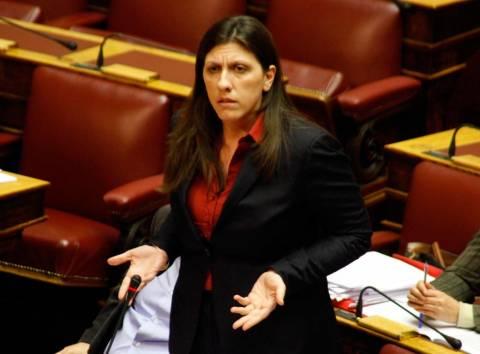 Άγριος καυγάς Κασσή - Κωνσταντοπούλου στη Βουλή