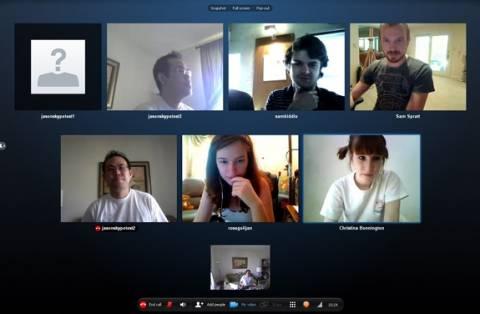 Δωρεάν group video calling στο Skype