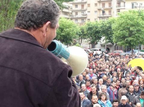 Κινητοποιήσεις παραγωγών λαϊκών αγορών στη Θεσσαλονίκη