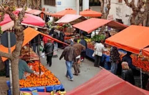 Λαϊκές αγορές: Αναστέλλεται η απεργία διαρκείας