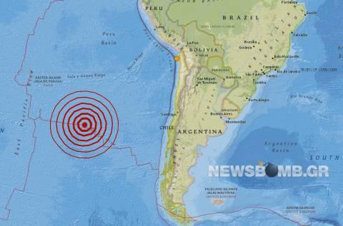 Σεισμός 6,2 Ρίχτερ στον Ειρηνικό Ωκεανό