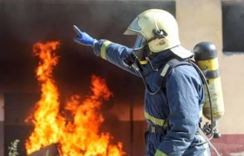 Φλώρινα: Πυρκαγιά σε υπόγειο μονοκατοικίας