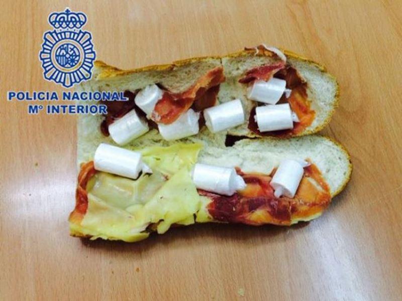 Ισπανία: Ένα σάντουιτς με τυρί, ζαμπόν... κοκαΐνη! (photo)