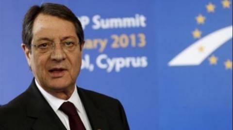 Αναστασιάδης: Θετική επίδραση στην οικονομία η λύση του Κυπριακού