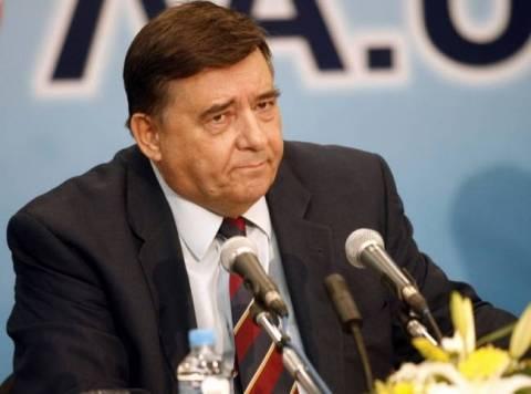 Ο Γ. Καρατζαφέρης εγκαινίασε τα νέα γραφεία του κόμματος