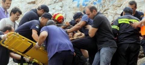Μαθητής και καθηγητής τραυματίστηκαν στον Όλυμπο