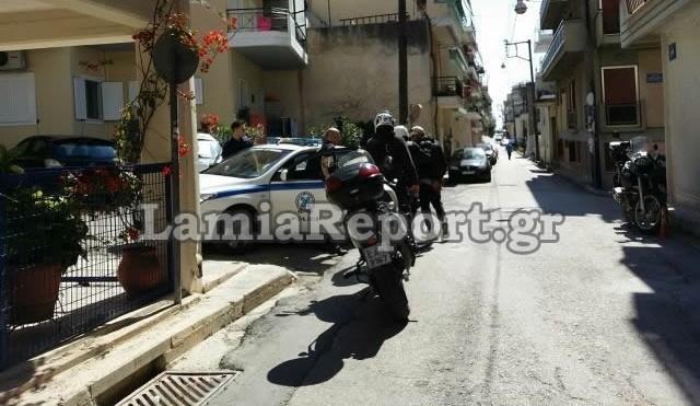 Λαμία: Καρέ - καρέ η σύλληψη επίδοξου ληστή (pics)