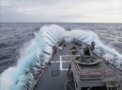 Άσκηση Ναυτικού Ρουμανίας με το αμερικανικό Taylor