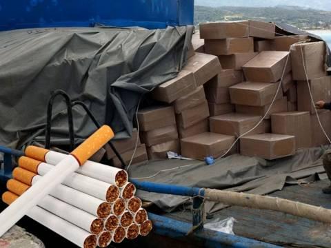 Κατέσχεσαν ποσότητα – μαμούθ λαθραίων τσιγάρων στο λιμάνι του Πειραιά